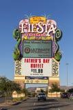 Fiesta Henderson Sign in Las Vegas, Nanovolt am 14. Juni 2013 Lizenzfreie Stockbilder