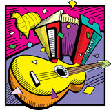 Fiesta Icon. Fiesta Party and Music Icon Royalty Free Stock Photos