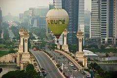 Fiesta internacional 2011 del impulso del aire caliente de Putrajaya Imagen de archivo