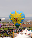 Fiesta internationale de ballon à Albuquerque, nanomètre Photos libres de droits