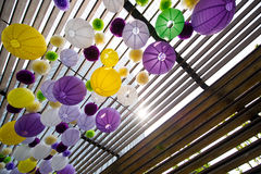 Fiesta lanterns Royalty Free Stock Photography