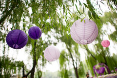 Fiesta lanterns Stock Images