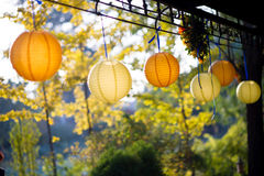 Fiesta lanterns Stock Photography