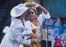 Fiesta Las Vegas Royaltyfri Bild