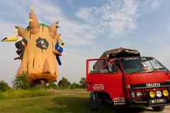 fiesta lotniczego balonu fiesta gorący międzynarodowy Putrajaya Obraz Stock