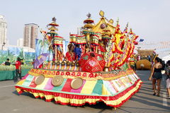 Fiesta Manille d'Aliwan photographie stock