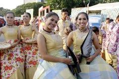 Fiesta Manille d'Aliwan image stock