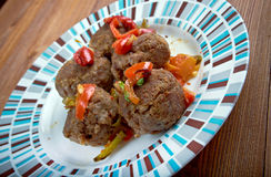 Fiesta Meatballs Stock Photography
