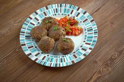 Fiesta Meatballs Royalty Free Stock Photos