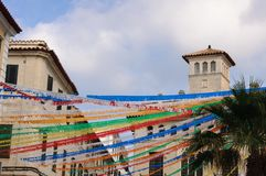 Fiesta in Menorca, Balearic islands, Spain Stock Photos
