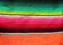 Fiesta mexican handwoven rug Royalty Free Stock Photo