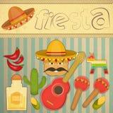 Fiesta mexicana ilustración del vector