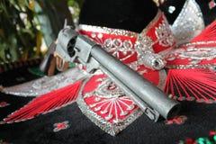 Fiesta mexicana del sombrero Foto de archivo libre de regalías
