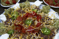 Fiesta Nachos Royalty Free Stock Photography