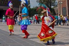 Fiesta patronal San Juan Diego Cuauhtlatoatzin in Mexico City Royalty Free Stock Photo