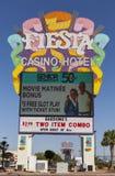 Fiesta Rancho-Kasino unterzeichnen herein Las Vegas, Nanovolt am 29. Mai 2013 Lizenzfreies Stockfoto