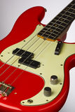 Fiesta Red 1961 Precision Bass Royalty Free Stock Images