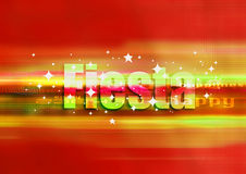 Fiesta red. Fiesta background, illustration red colors with lots of stars Royalty Free Stock Images