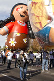 Fiesta-Schüssel-Parade 2012 großes Inflatables Lizenzfreie Stockbilder