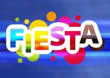 Fiesta sous tension illustration libre de droits