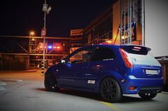 fiesta ST at the mall Royalty Free Stock Photos