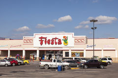 Fiesta Supermarket in Texas Royalty Free Stock Photos
