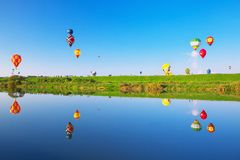 Fiesta van de SAGA de Internationale Ballon Stock Foto