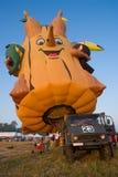 fiestainternational pattaya för 2009 ballong Royaltyfria Bilder