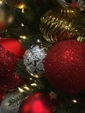 Fiestas de la Navidad foto de archivo libre de regalías