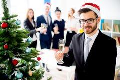 Fiestas en la oficina del Año Nuevo Fotografía de archivo