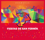 Fiestas Festival Spain Royalty Free Stock Photography