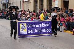 Fiestas Mexicanas de Desfile Foto de archivo libre de regalías