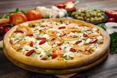 Fieta de la pizza Fotografía de archivo libre de regalías