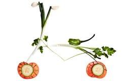 Fiets die van groenten wordt gemaakt Royalty-vrije Stock Fotografie