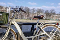 Fiets in Holland royalty-vrije stock afbeelding