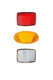 Fiets lichte reflectors Royalty-vrije Stock Afbeelding