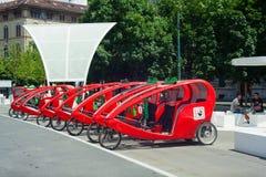 Fiets met drie wielen Stock Fotografie