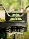 Fiets Seat Royalty-vrije Stock Afbeeldingen