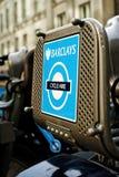 Fiets voor huur Londen Royalty-vrije Stock Fotografie
