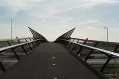 Fietsbrug Stock Fotografie