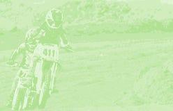 Fietsen 8 van het Vuil van de motocross Stock Foto's
