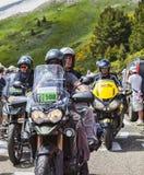 Fietsen van Ronde van Frankrijk Stock Foto's