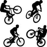 fietser royalty-vrije illustratie