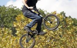 Fietser BMX Royalty-vrije Stock Foto's