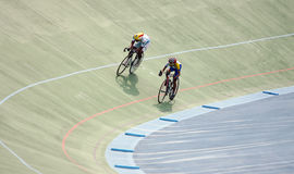 fietsers Stock Afbeelding