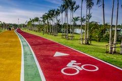 Fietsmanier voor fiets, stock fotografie