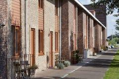 Fietspadstraat Royalty-vrije Stock Foto's
