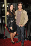 Fievel Stewart, BooBoo Stewart. BooBoo Stewart & Fievel Stewart at the Los Angeles premiere of Gone at the Arclight Theatre, Hollywood. February 21, 2012  Los Royalty Free Stock Image