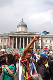 Fifa 2010 celebration, Trafalgar square Stock Photography