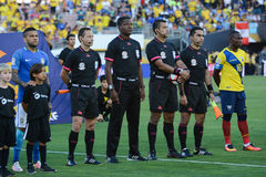Fifa arbitrzy podczas Copa Ameryka Centenario Obraz Royalty Free